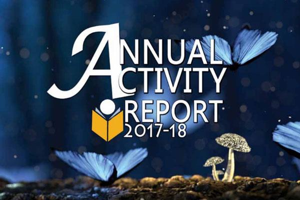 ANNUAL ACTIVITY REPORT 2017-18