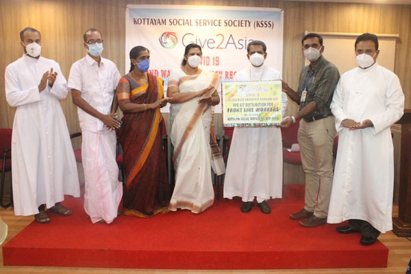 PPE Kit and Mask Distribution for Health Workers