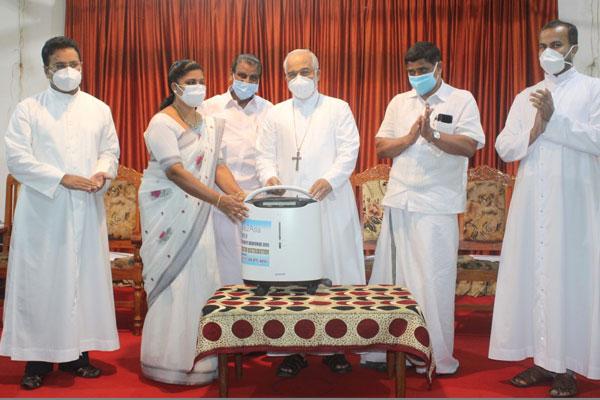 Oxygen Concentrator Distribution to Kottayam Municipality